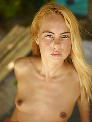 She is sweet, sexy and beautiful! Teen Thea is naked for your pleasure!