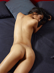 Cute small-titted ethnic girl
