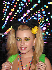 Lexi Belle collected these photos while partying in costume
