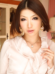 This classy Japanese porn lady Tsubaki is hot